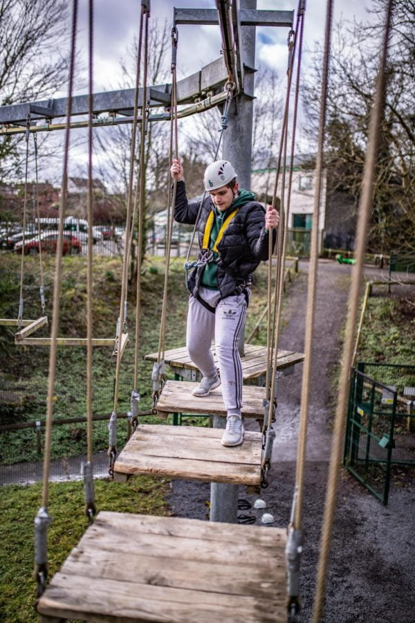 ropes course Belfast