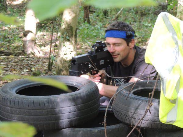 laser tag Colin Glen forest