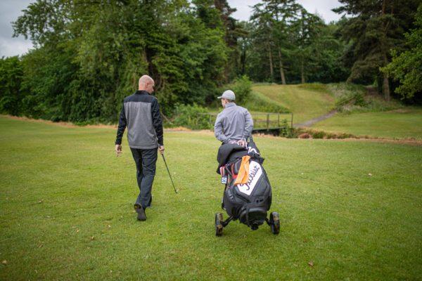Golf lesson Peter Martin