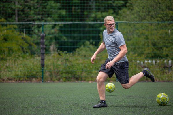 Football at Colin Glen