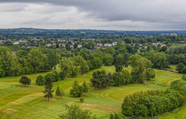 round of golf Colin glen