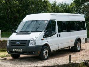 mini bus hire Colin Glen