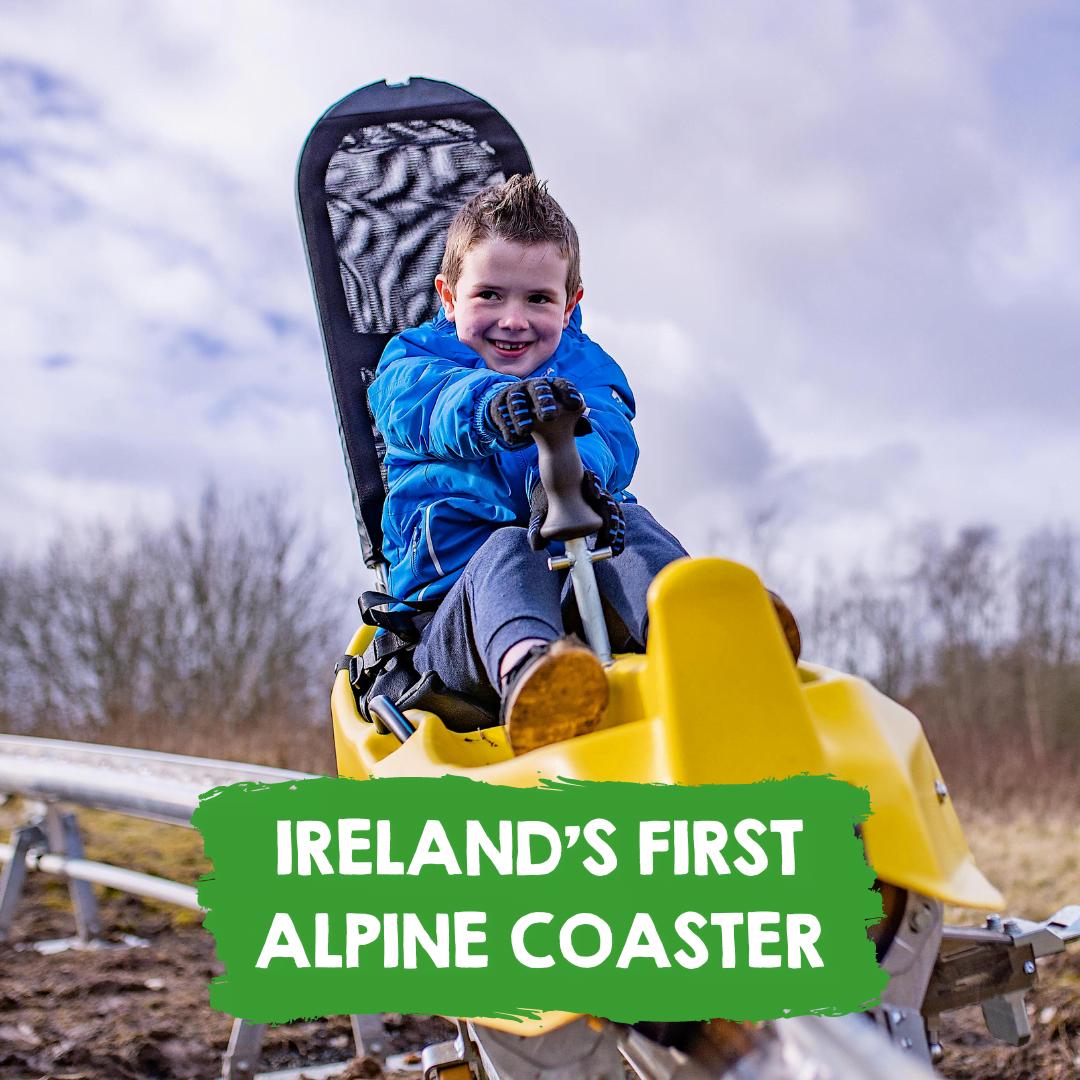 Ireland's first alpine coaster